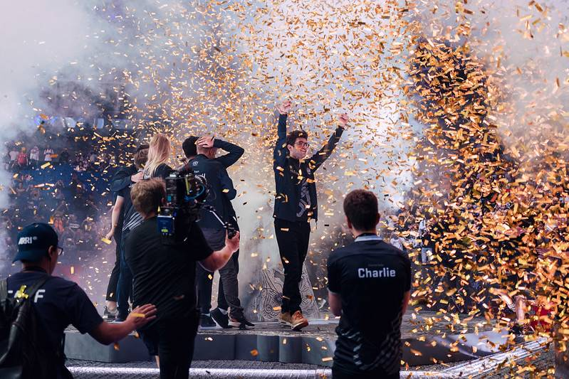 Everyone wants their turn to lift the Aegis and collect The International's massive grand prize.
